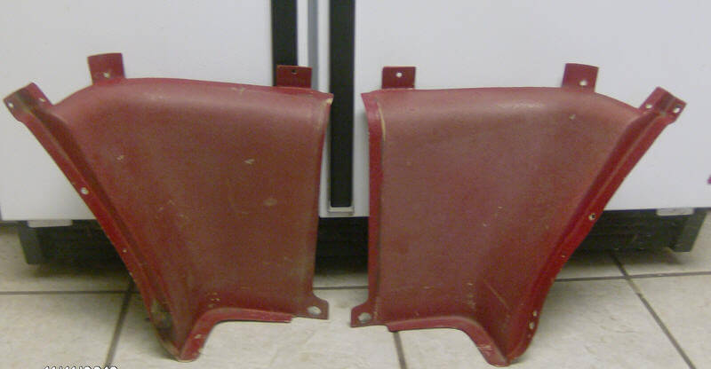 66 Mustang Parts >> 65 66 Mustang Fastback Interior Panels Mustang Parts Used