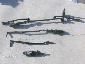 64-70 Mustang center links and tie rod ends