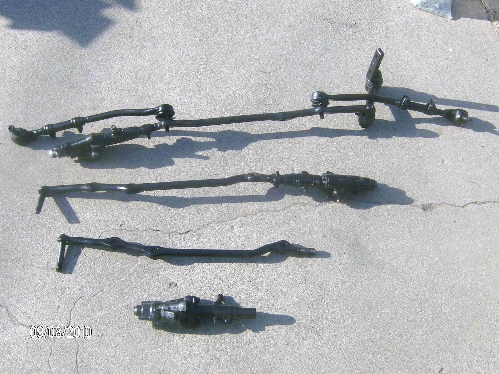 64 70 Mustang Center Links And Tie Rod Ends